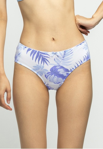 6IXTY8IGHT white 6IXTY8IGHT Modal lace printed Panty PT11142 F27A3USEE23A16GS_1