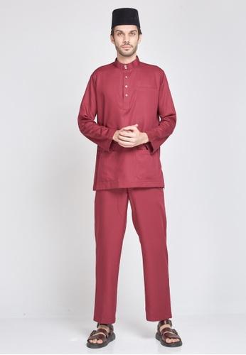 MOTHER & CHILD purple Baju Melayu Sultan Exclusive 7B864AAC81E0FCGS_1