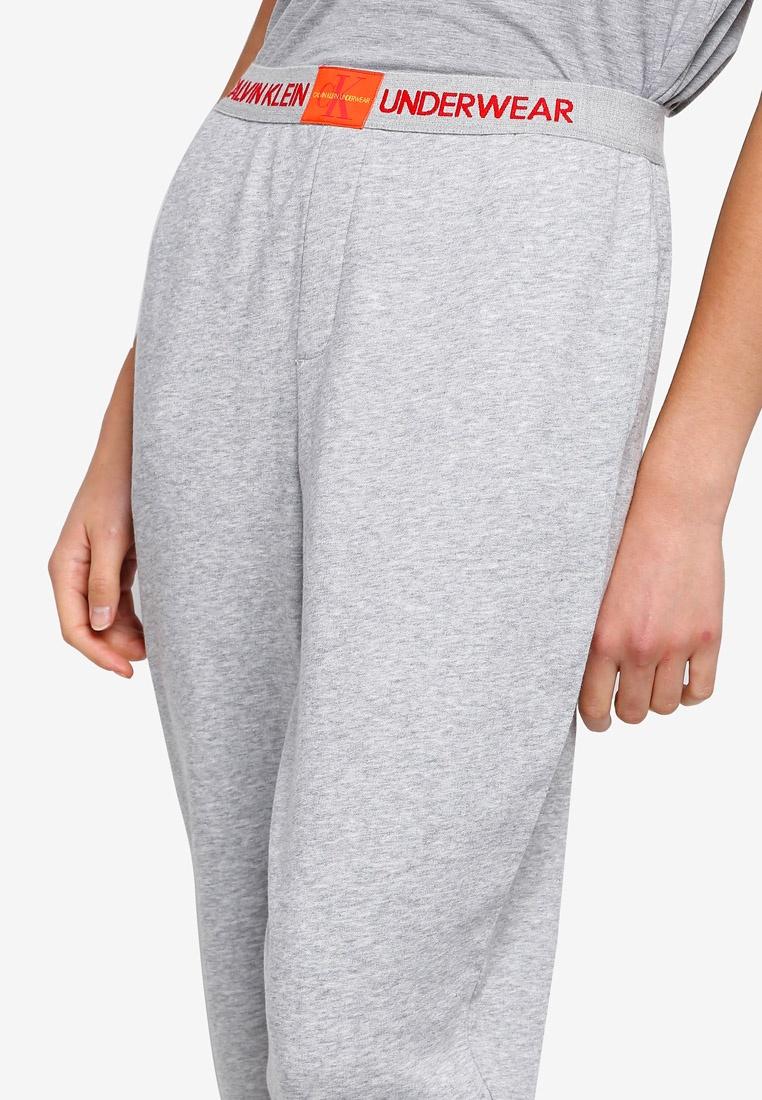 Klein Monogram Underwear Heather Calvin Klein Calvin Grey Joggers qU1wZCnS