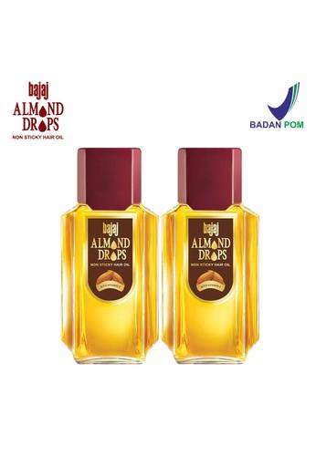 Bajaj Almond Drops Bajaj Almond Drops Vitamin E Hair Oil - (2 Pcs Set 200ml) 738D3ESCE5C54DGS_1