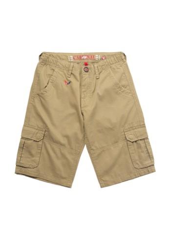 Cardinal Kids brown Bermuda Pants 24426KABD74843GS_1