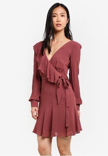 Bardot brown Rosie Dress BA332AA0SBJDMY_1