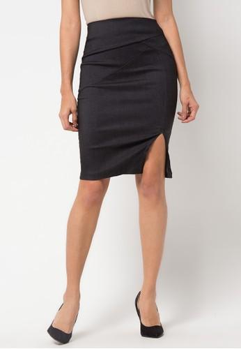 Raspberry black Alvis Midi Skirt RA572AA69YQSID_1