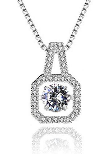 LYCKA silver LPP88044 S925 Silver Necklace DCC4CAC7C5474FGS_1