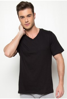 Deep V-Neck Undershirt