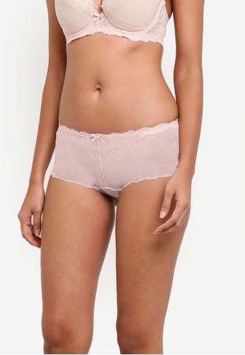 XIXILI pink Ariba Boyleg Panty XI802US0S8LMMY_1
