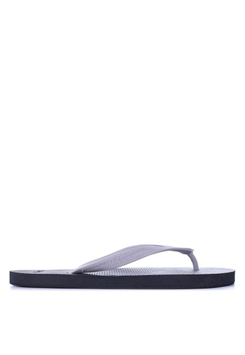 BENCH black Basic Rubber Slippers BE550SH34LWJPH_1