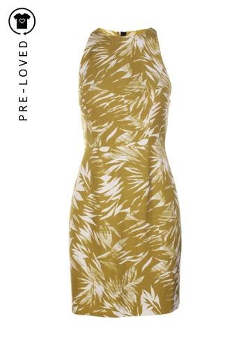 Jason Wu green Pre-Loved jason wu Leafy Printed Dress ED2B8AAE71927AGS_1