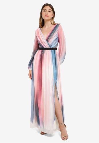 Little Mistress multi Chiffon Dress DF406AAFFA0CA5GS_1