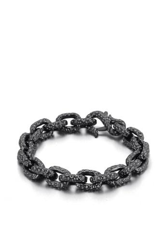 HAPPY FRIDAYS Wave Spot Titanium Steel Bracelet KL137021 C66D7AC73E2771GS_1