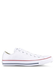 4a291ee2d Converse white Chuck Taylor All Star Leather Core Ox Sneakers  B8661SHB22CC01GS 1