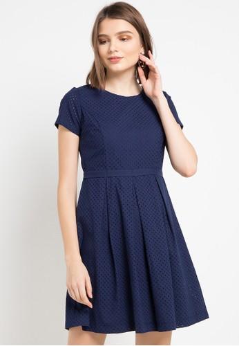 EPRISE blue Malia Dress 0FE7FAAC24CD15GS_1