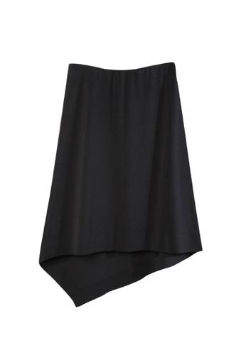 Giordano Ladies black Heat Seal Edge Multi-Way Skirt 2DDF7AAA723F30GS_1