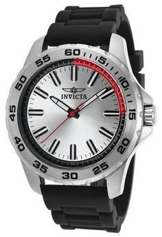Pro Diver Men 45mm Case Polyurethane Strap Dial Quartz Watch 21854
