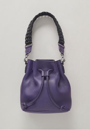 Bottletop purple Bottletop® Alysse Mini Blackberry Shoulder Bag / Back Pack 5E186AC364F313GS_1