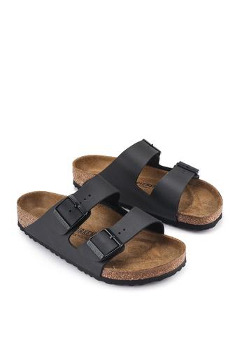 Birkenstock black Arizona Sandals BI090SH51HNSMY_1