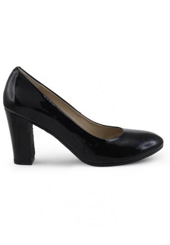 Shu Talk 黑色 圓頭漆皮高跟鞋 SH544SH099UDTW_1