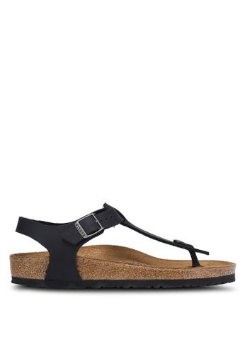 Birkenstock black Kairo FL Sandals BI090SH0RCO3MY_1