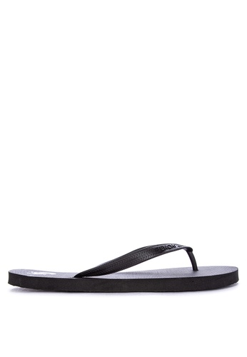 BENCH black Rubber Slippers 544B9SHFB8D061GS_1