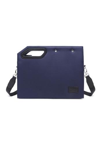The Dude navy Mayores Briefcase E9FF0ACD2ECCC2GS_1