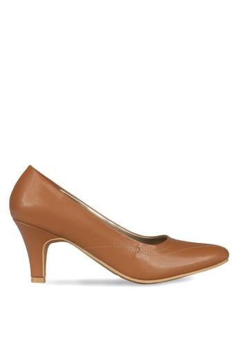 CLAYMORE brown Claymore Mid low helels HA 08 Tan CL635SH0UI9FID_1