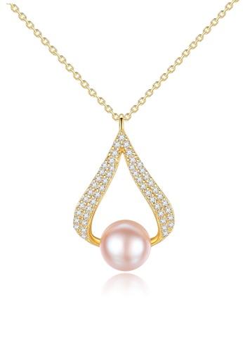 A.Excellence white Premium White  Pearl Elegant Necklace B958FAC4BCBC93GS_1