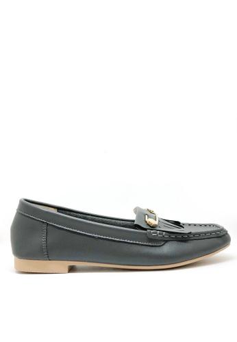 Twenty Eight Shoes 柔軟小方頭鈕子Loafers 1140-82 9B1D9SHC244676GS_1