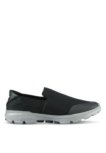 UniqTee black Lighweight Breathable Mesh Sport Sneakers UN097SH0S21HMY_1