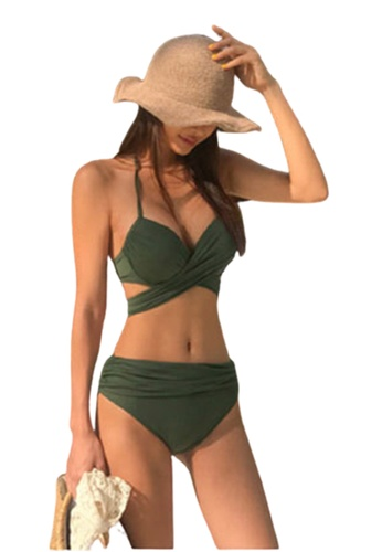 Halo green Sexy Swimsuit Bikini 52784US4E91EAFGS_1