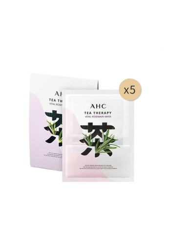 AHC AHC Tea Therapy Vital Rosemary Mask 28g*5ea F848EBE9157D4AGS_1