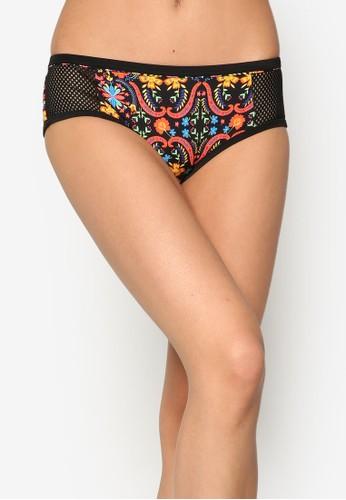 Breezy 印花網眼比基尼內褲, 服飾, esprit 尺寸服飾