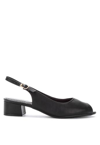 Piccadilly black Comfort Open Toes Medium Heels 8772ASHF7EA19BGS_1