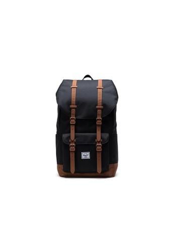 Herschel black Herschel Little America - Black Backpack C12EAAC5427C21GS_1