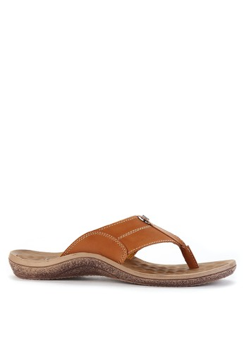 Watchout! Shoes brown Sandals Thongs WA021SH0VXYMID_1
