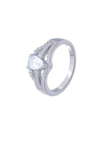 ADORA Silver Clear CZ Ring AD365AC2V3ZAHK_1
