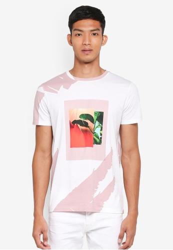 BOSS white Timen 4 T-Shirt - Boss Casual E34FAAA750631CGS_1