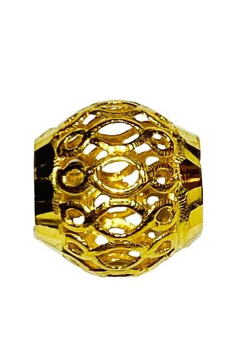 LITZ gold LITZ 916 (22K) Gold Bead Charm GP0157 (0.60g+/-) BF2E7ACB902F7BGS_1