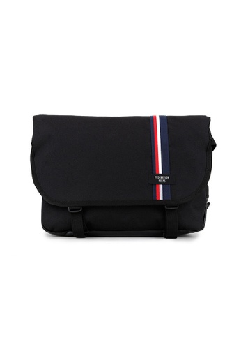 Peeps black and white and red and blue and multi Essential Messenger Bag 719F7AC61E5F8DGS_1