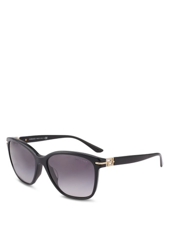 Versace black Rock Icons Greca VE4290BA Sunglasses 4EF9EGL8C84CC4GS_1