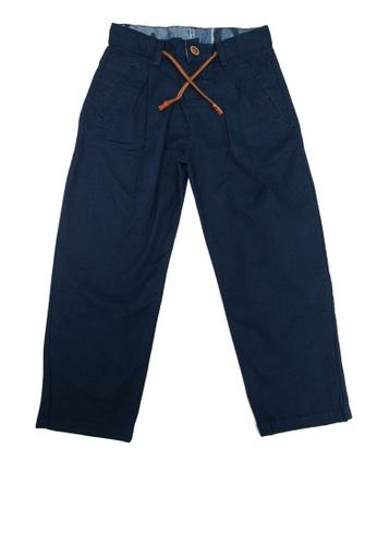 LC Waikiki navy Boy's Cotton Trousers 5438BKADA1AA8FGS_1