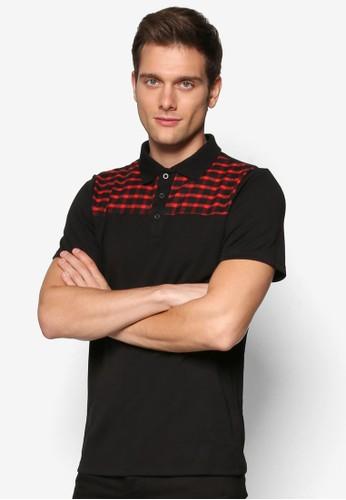 JAXON Plaid Polo Shirt