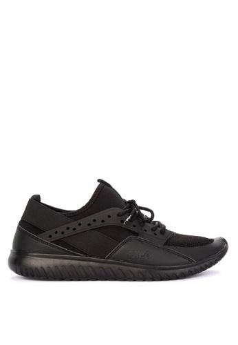 Fila black Enforce Lite Running Shoes CB395SH0C82821GS_1