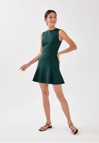 Love, Bonito green Adelyn Trumpet Dress 825A9AA8F58E0FGS_1