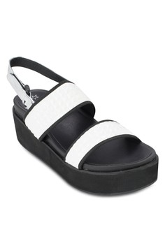 Flat Wedges with Ankle Straps