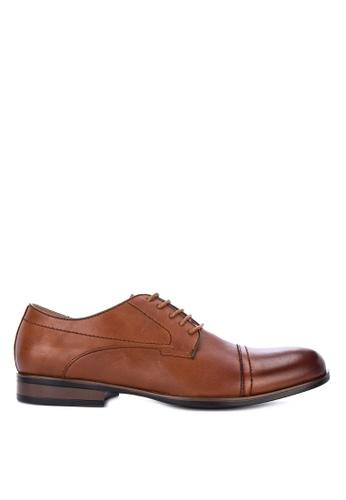Gibi brown WAX 003 Formal Shoes 8C5CCSH9AC10BCGS_1