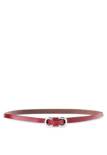 WHITEMODE red Diah Belts 4986CAC75E9BD8GS_1