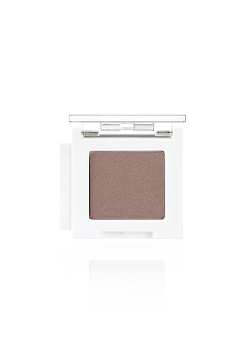 THE FACE SHOP brown Mono Cube Eyeshadow (Shimmer)  BR02 Brown Brown 513F6BE1A84627GS_1
