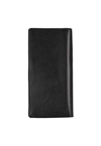 Picard black Saffiano Long Wallet PI517AC76EEHSG_1