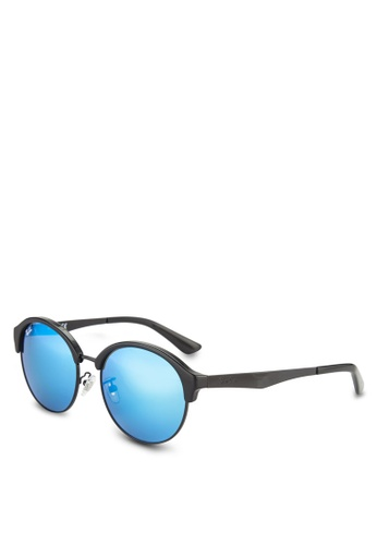 Ray-Ban black Highstreet Sunglasses RA896GL79GSAMY_1