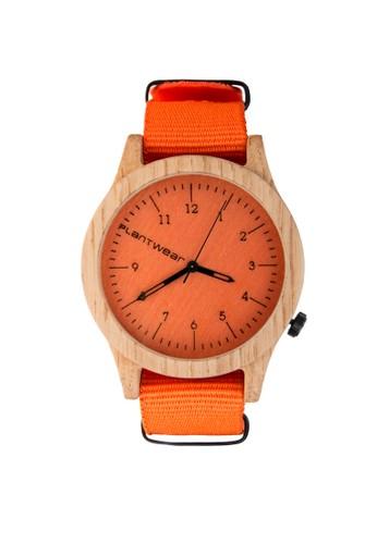 傳承系列活力橙橡木錶,zalora taiwan 時尚購物網 錶類, 紳士錶